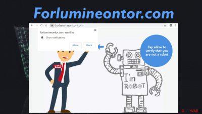 Forlumineontor.com pop-up