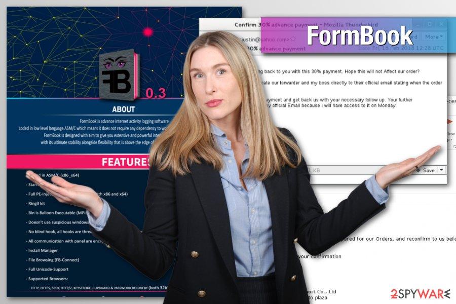 FormBook malware example