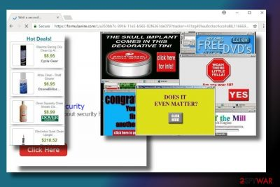 Picture of Formulawire.com ads