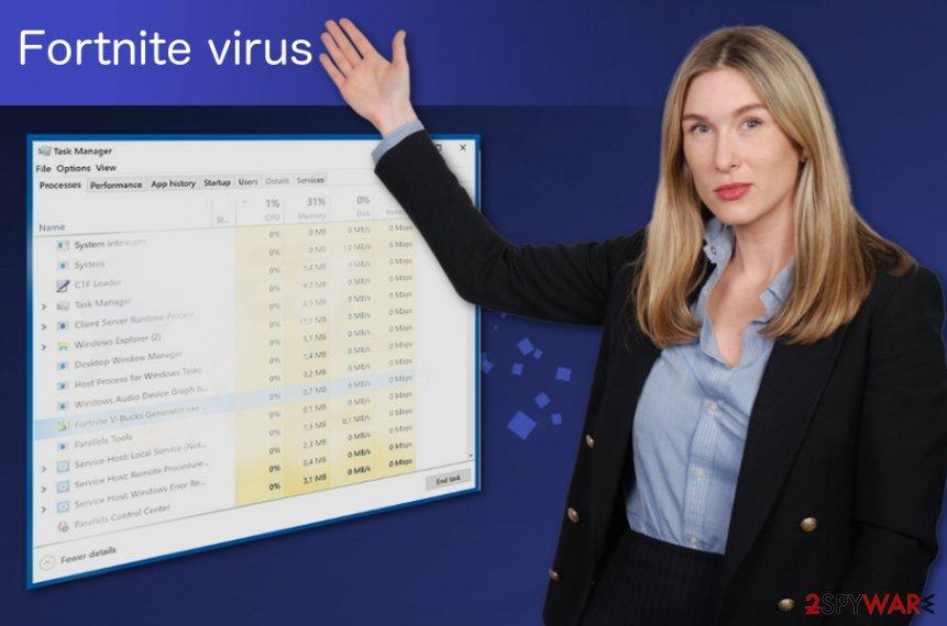 Fortnite virus redirect