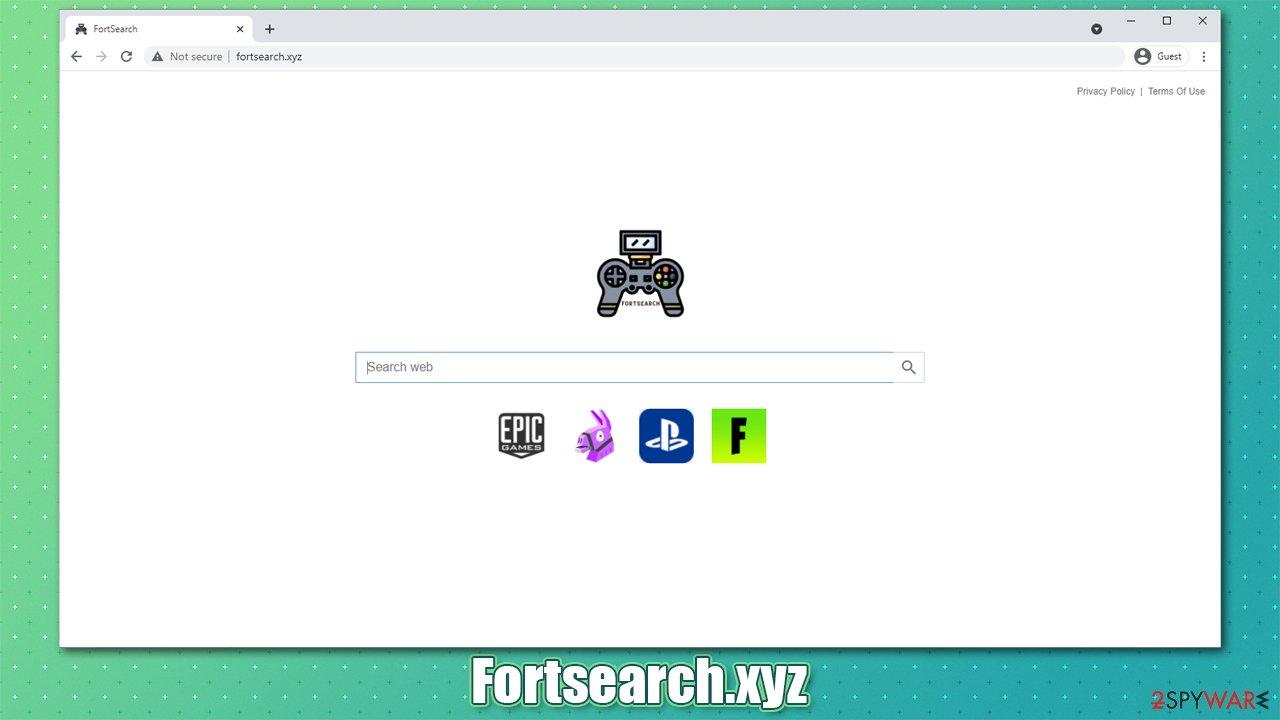 Fortsearch.xyz browser hijacker