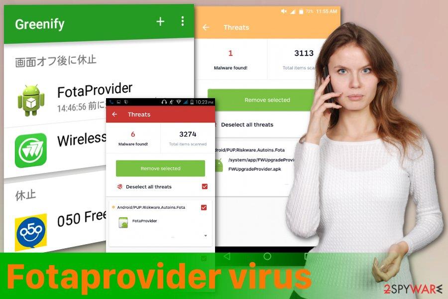Fotaprovider mobile malware