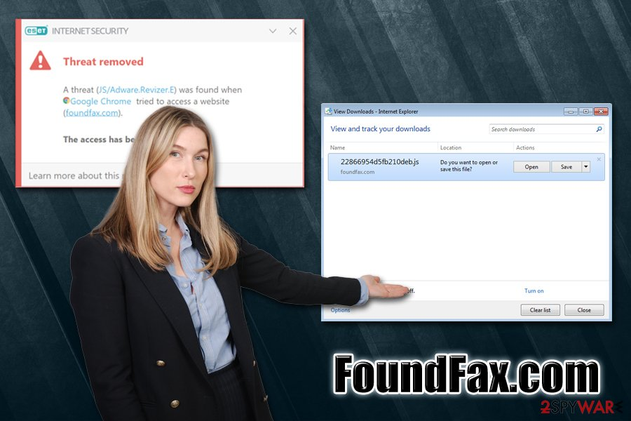 FoundFax.com virus
