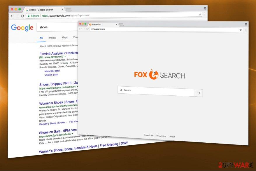 Foxsearch.me hijack image