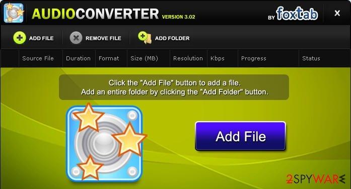 Foxtab Audio Converter