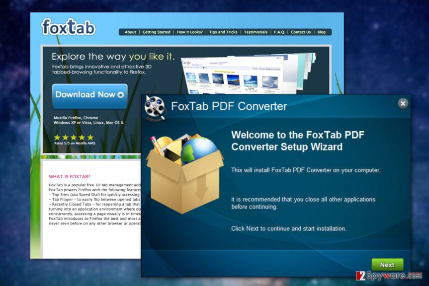 Remove FoxTab Pdf Converter (Removal Guide) - Jul 2017 update