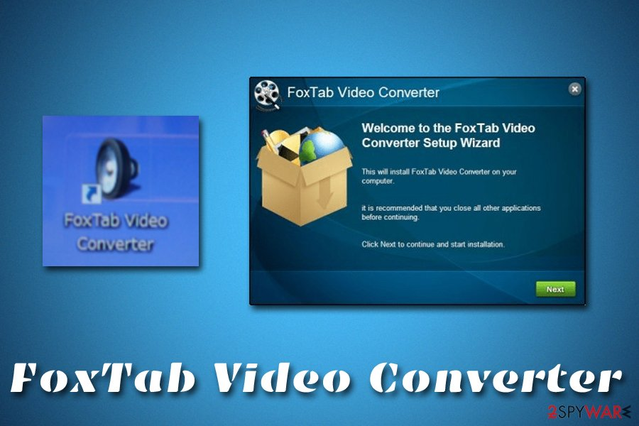 FoxTab Video Converter installation