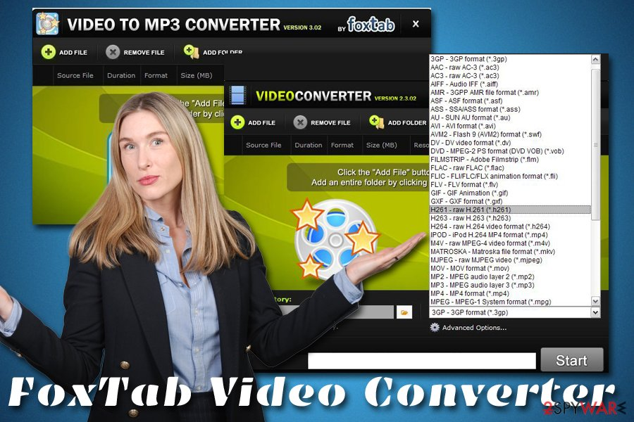 FoxTab Video Converter adware