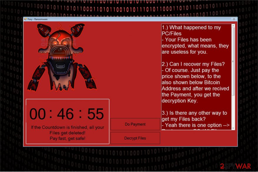Foxy ransomware attacks Windows users