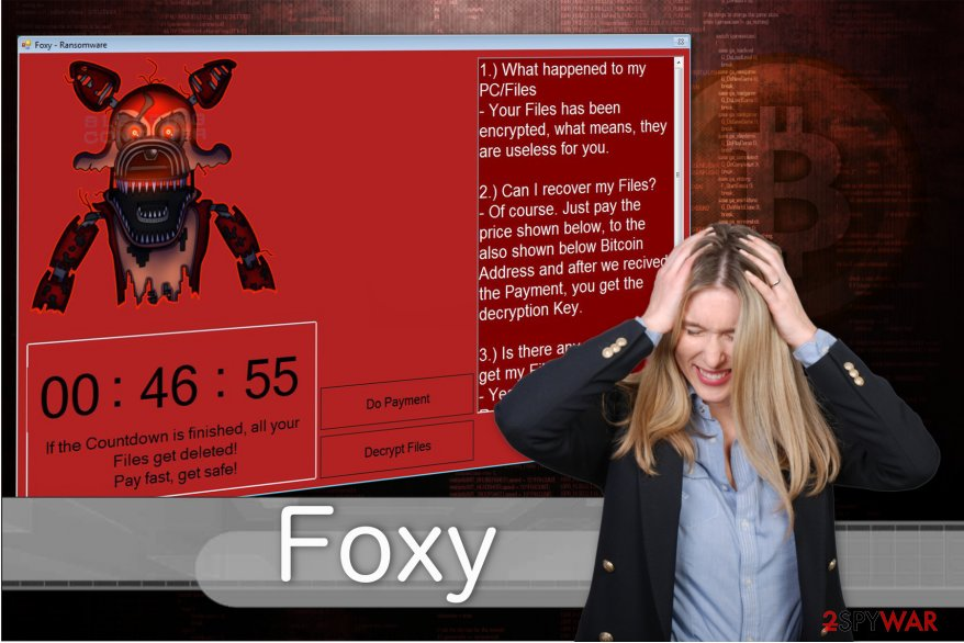 Foxy ransomware encrypts the most valuable data