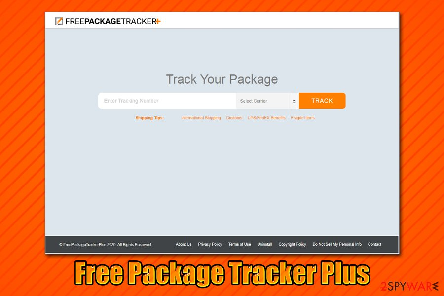 Free Package Tracker Plus