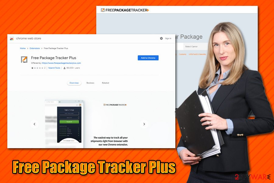 Free Package Tracker Plus adware