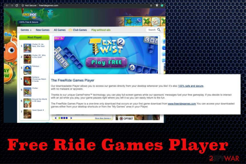 Free Ride Games Player