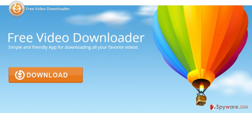 Free Video Downloader virus