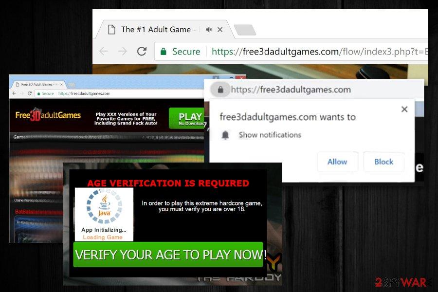 Free3dadultgames virus
