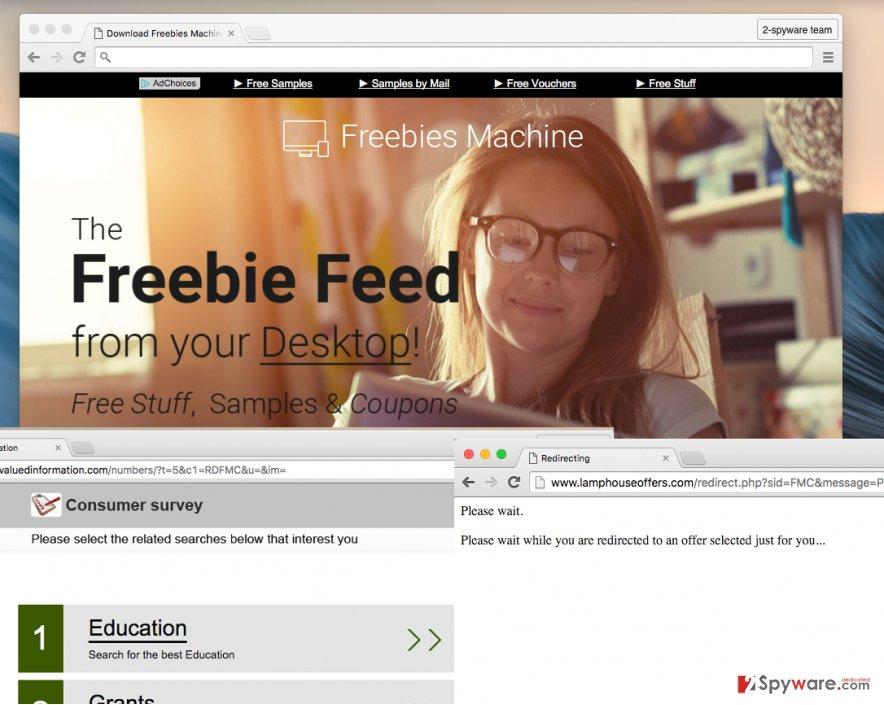 Freebies Machine virus