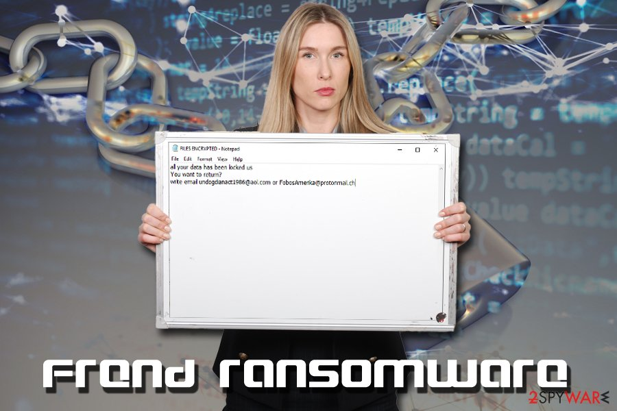 Frend ransomware virus