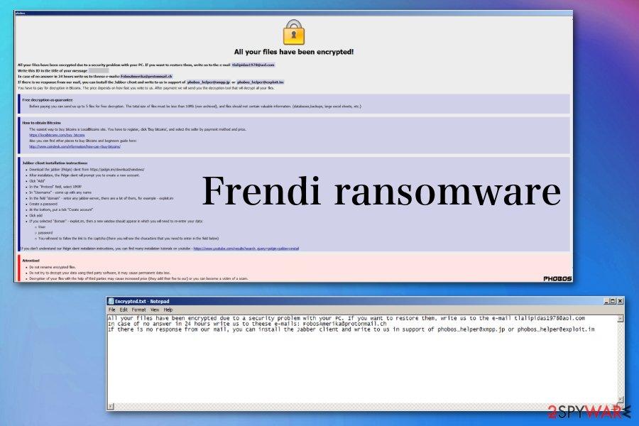 Frendi ransomware