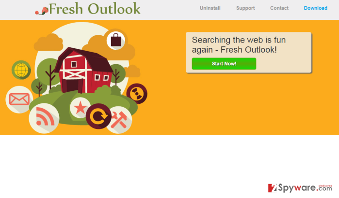 Fresh Outlook adware