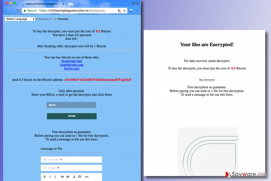 Freshdesk ransomware