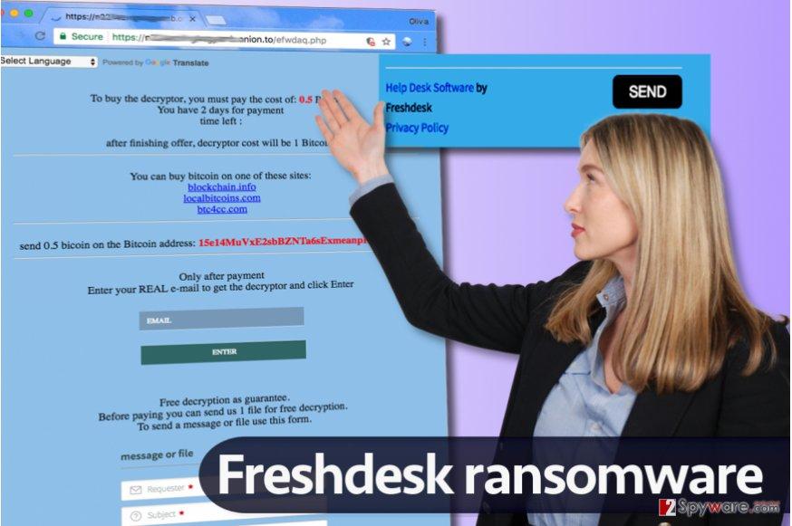 FreshDesk virus