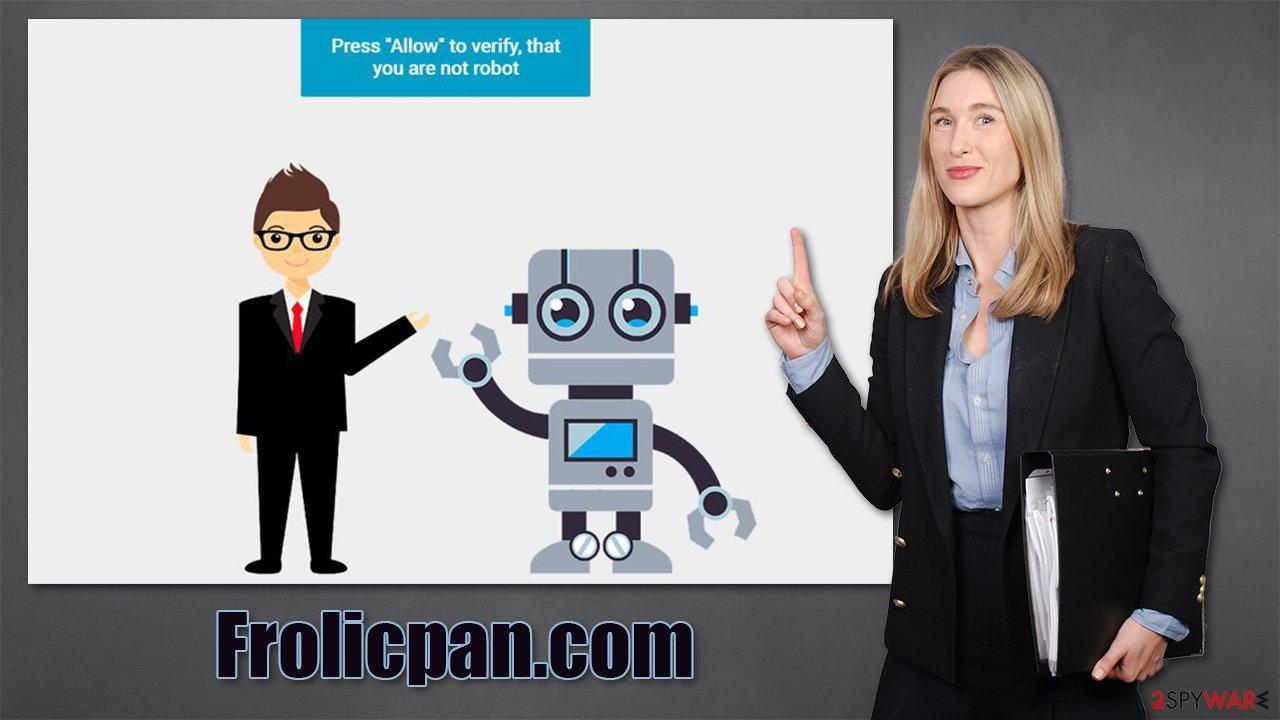 Frolicpan.com virus