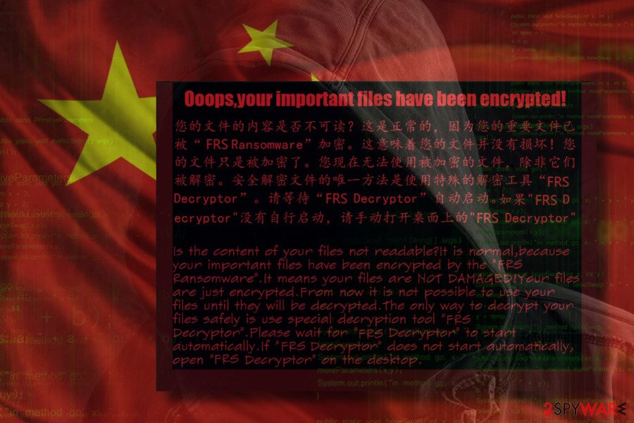 FRS Ransomware virus