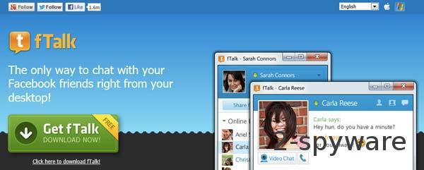 fTalk virus snapshot