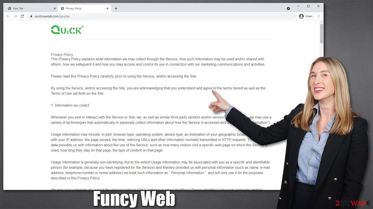 Funcy Web hijacker