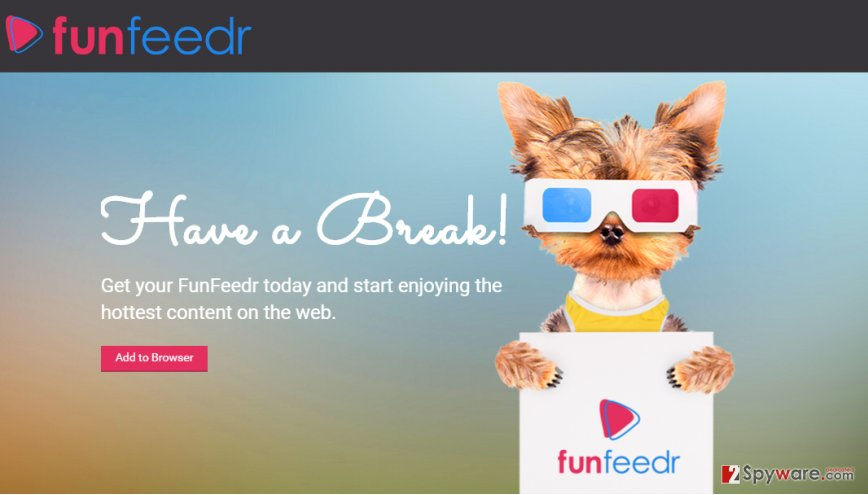 FunFeedr ads