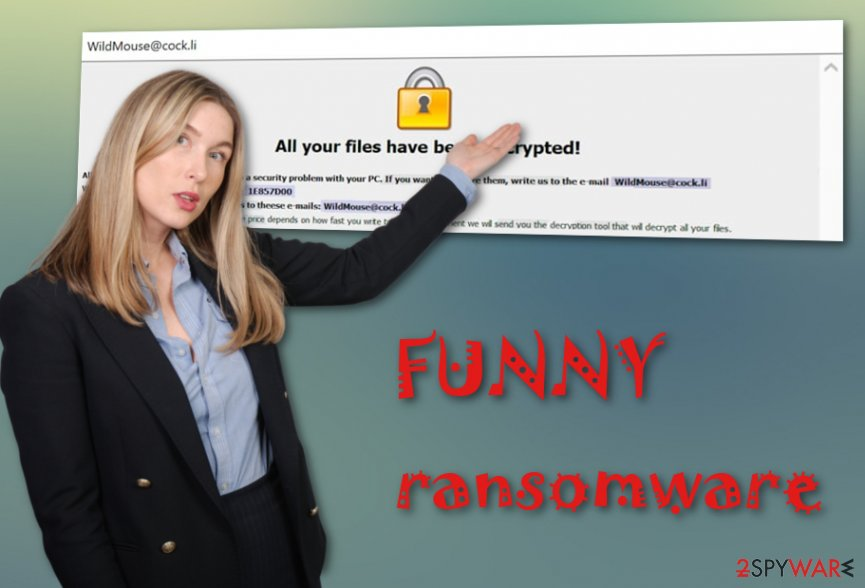 FUNNY ransomware virus
