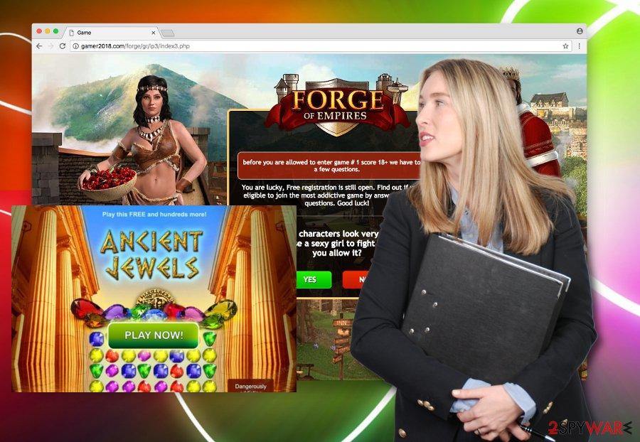 Gamer2018.com ads