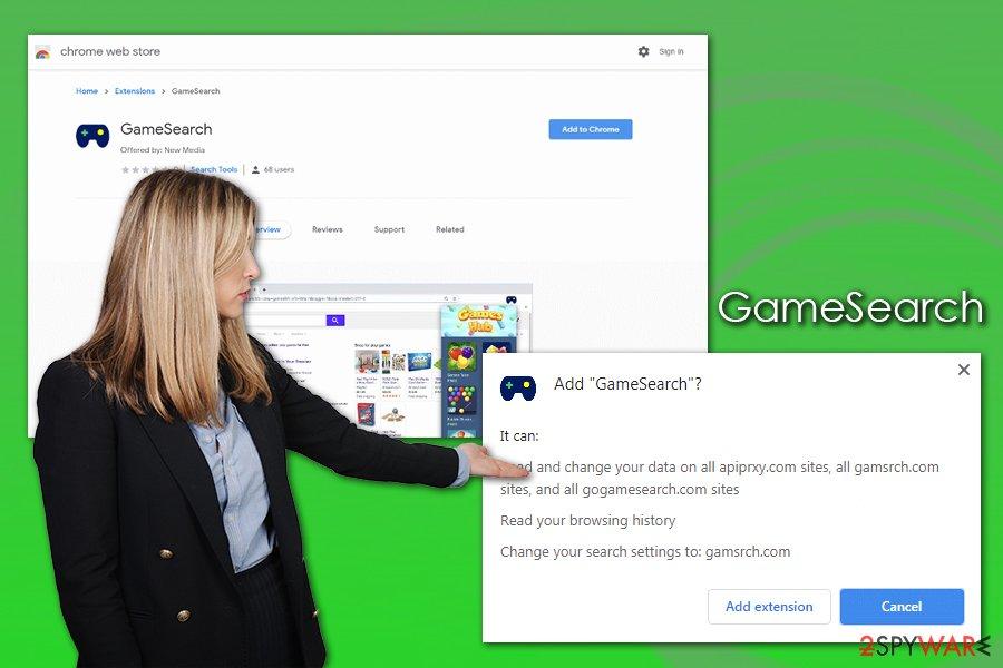 GameSearch hijack
