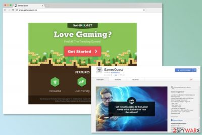 Download sources of Gamesquest.co