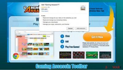 Gaming Assassin Toolbar