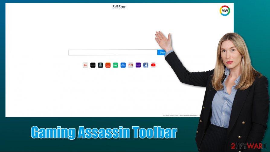 Gaming Assassin Toolbar virus