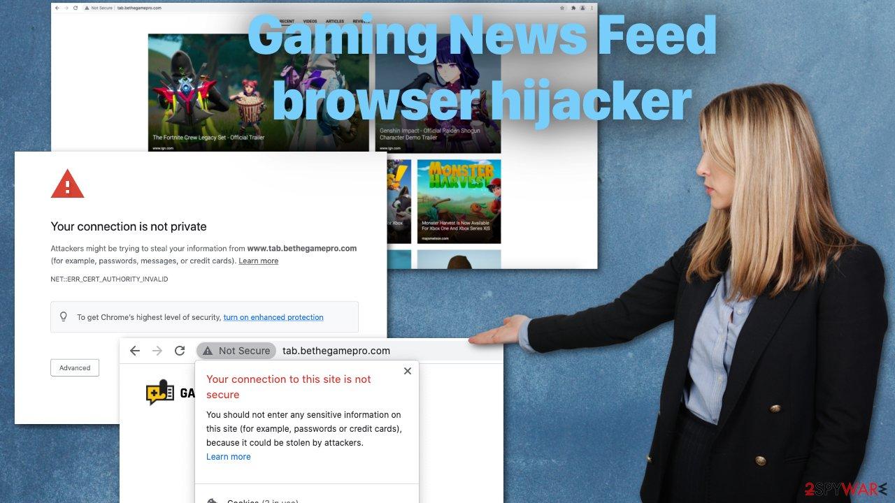 Gaming News Feed browser hijacker