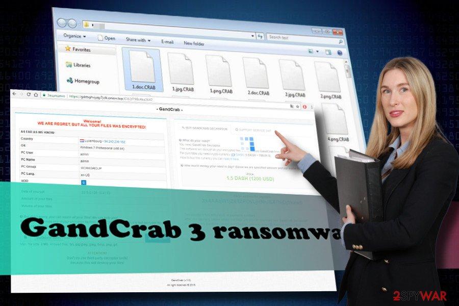 GandCrab 3 virus removal