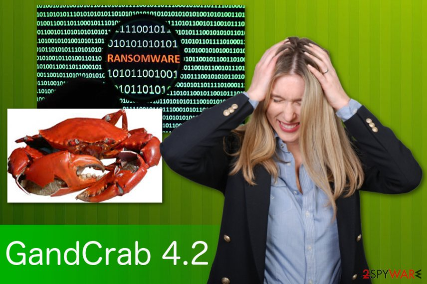 GandCrab 4.2 ransomware