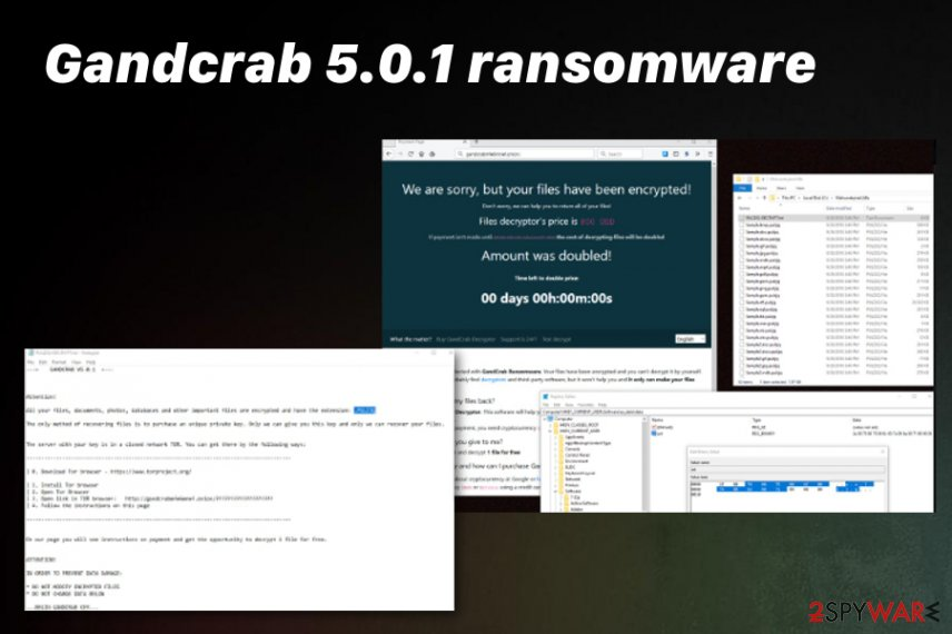 Gandcrab 5.0.1 virus