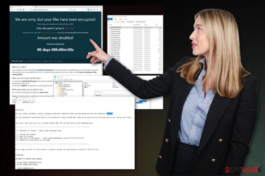 Gandcrab 5.0.1 ransomware
