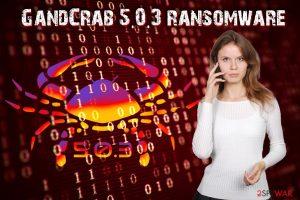 GandCrab 5.0.3 ransomware