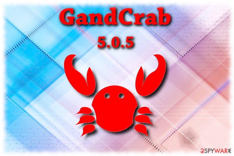 GandCrab 5.0.5 ransomware