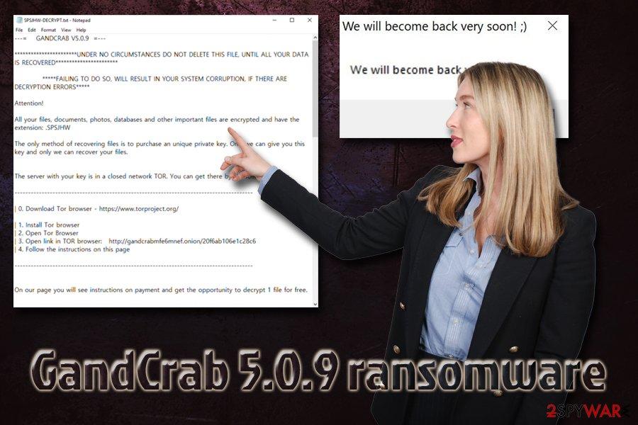 GandCrab 5.0.9 virus