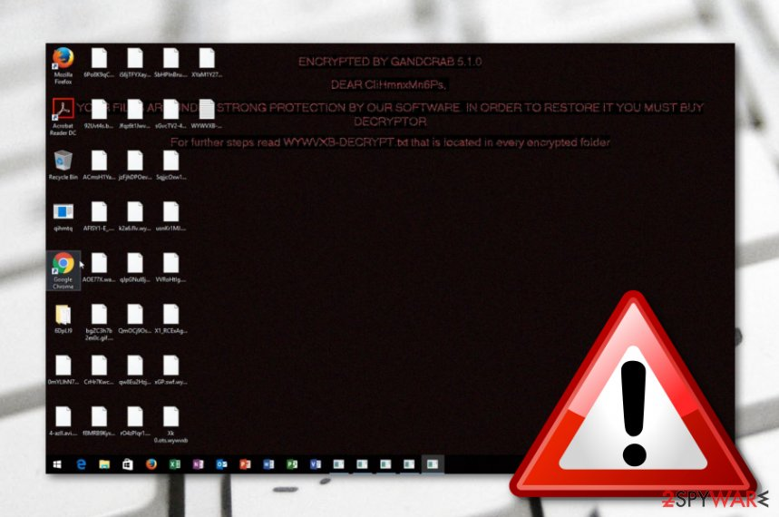 GandCrab 5.1.0 ransomware