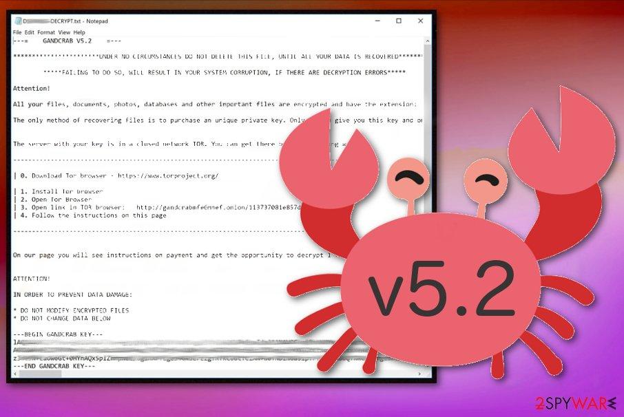 GandCrab 5.2