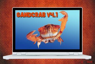 GandCrab v4.1 ransomware