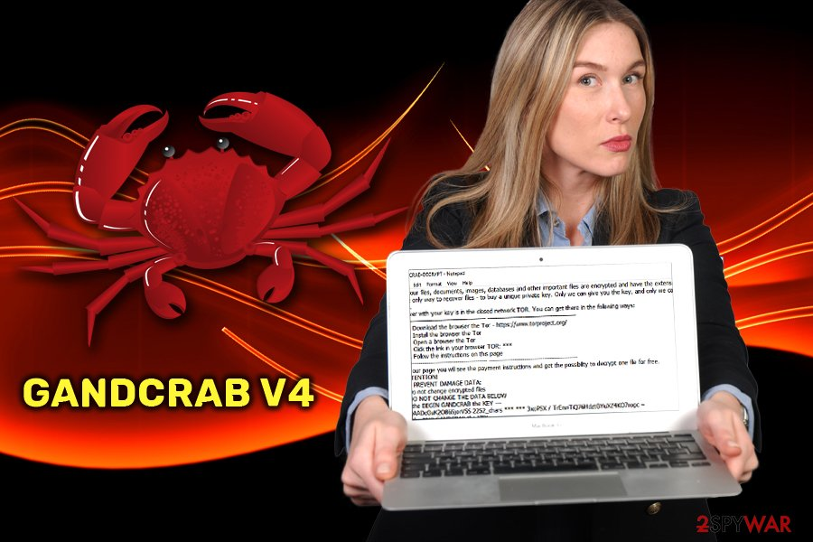 GandCrab v4 ransomware