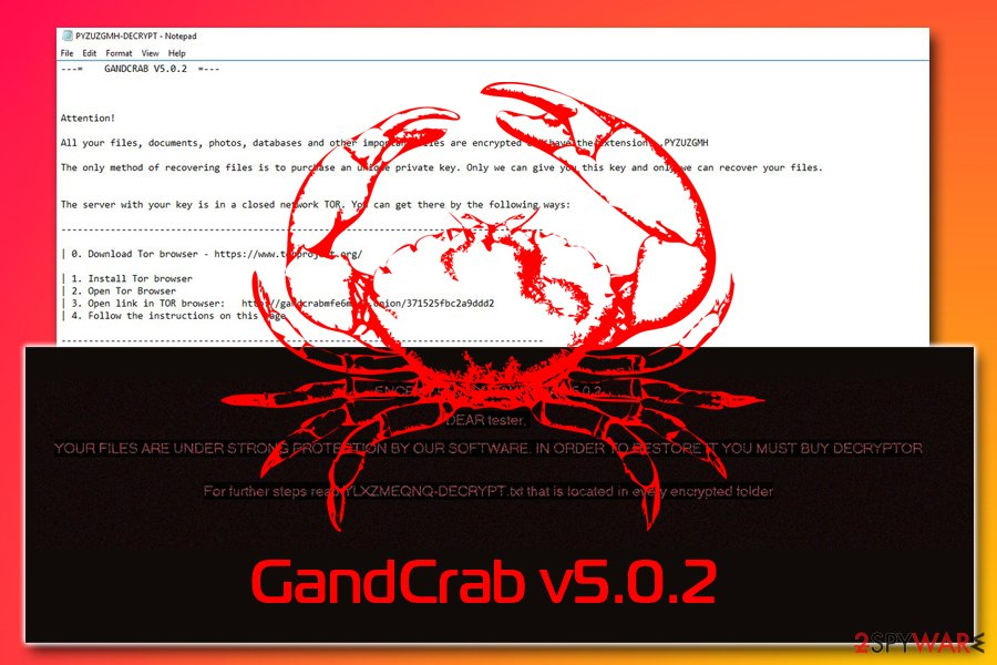 GandCrab v5.0.2
