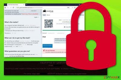 Gandcrab 5.1 ransomware